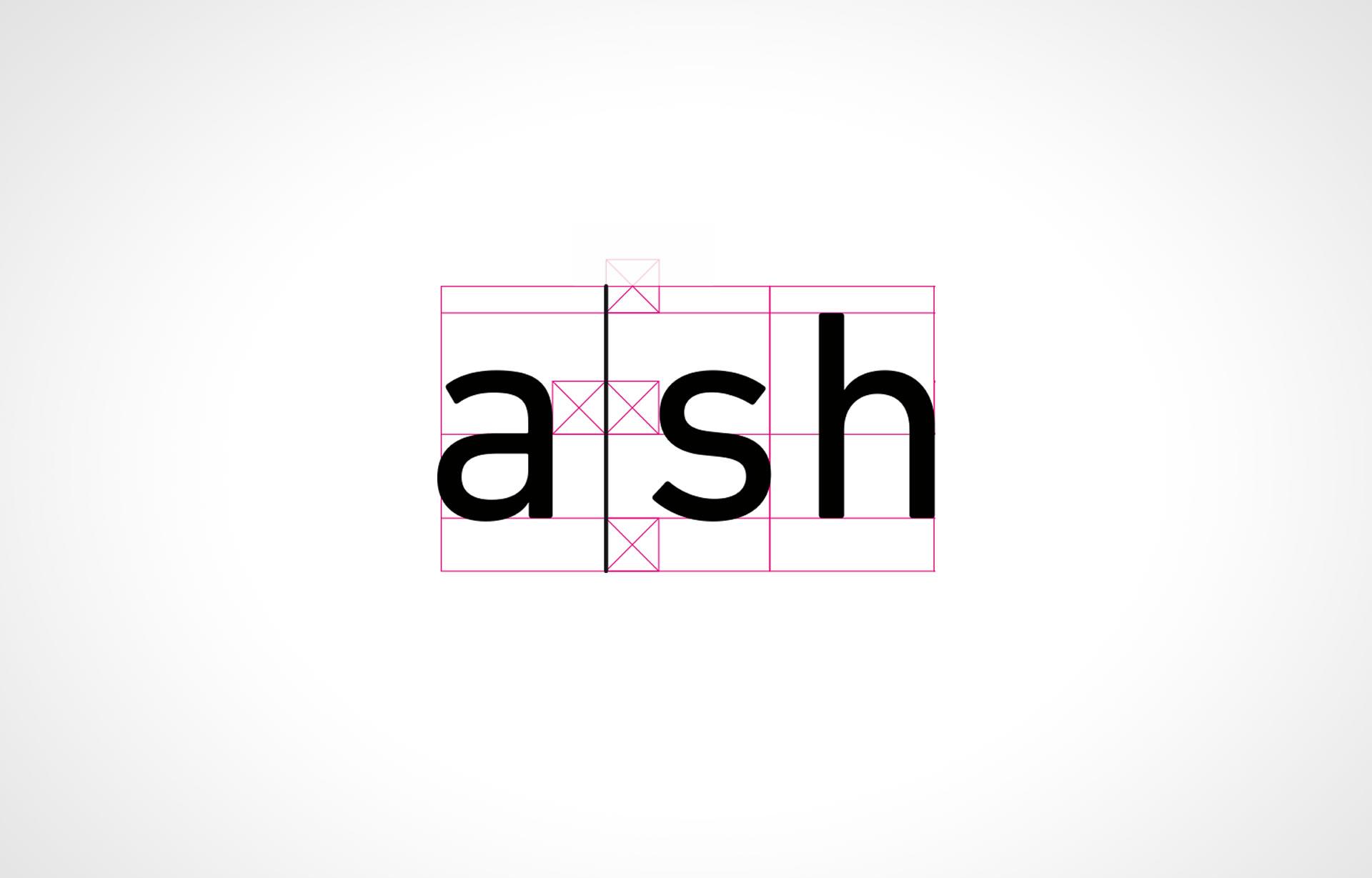 a-sh logo system